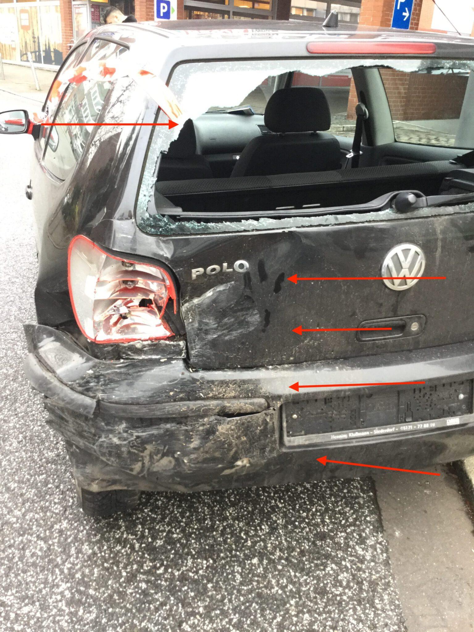 Kfz Gutachter Hamburg Polo Totalschaden